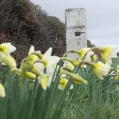 Coverack signpost