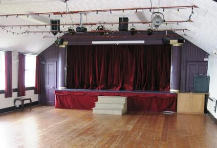 Lambeage-Hall Stage