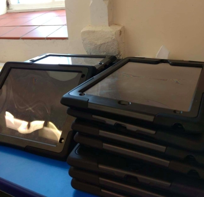 Coverack School iPads
