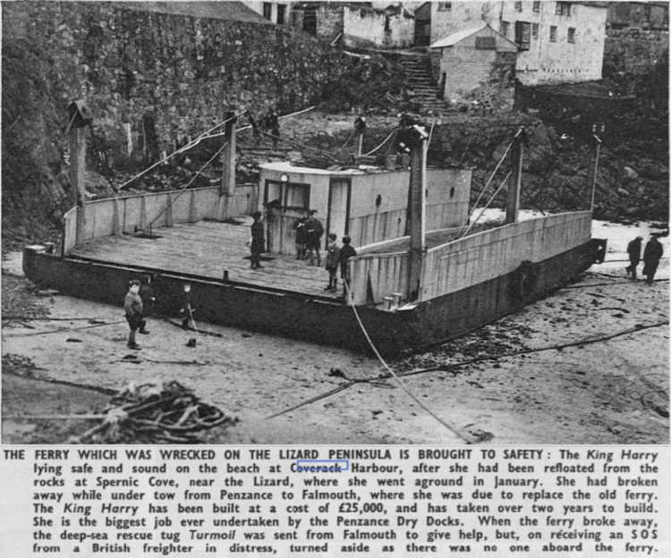 King Harry Ferry February 1951